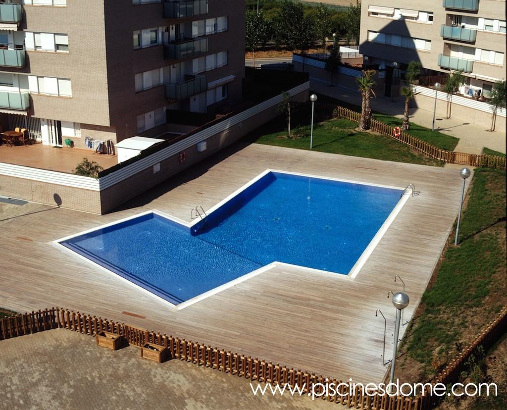 Obras realizadas de piscinas p blicas piscines dome - Tamanos de piscinas ...
