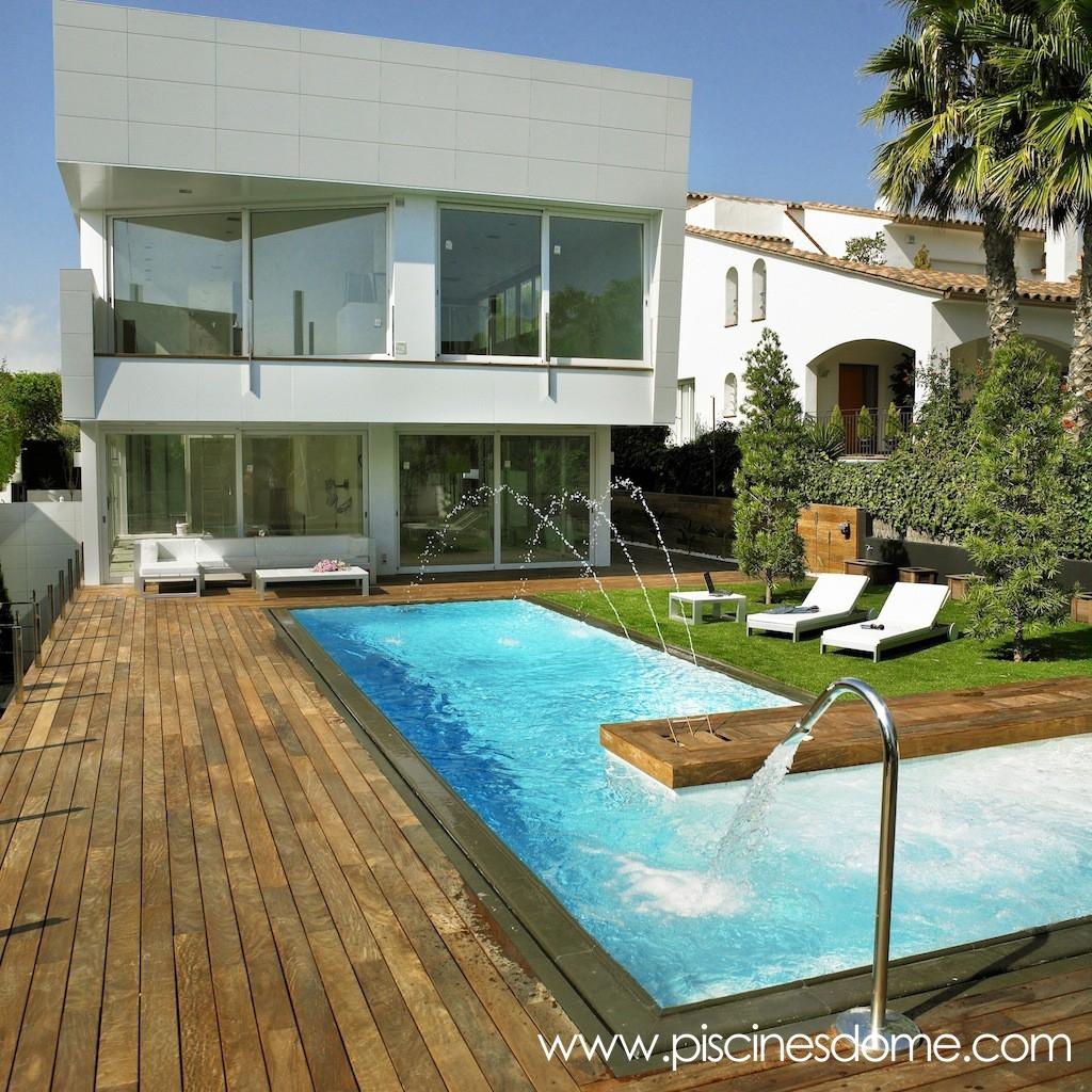 Im genes piscina desbordante piscines dome for Piscines dome
