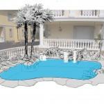 Proyecto piscina unifamiliar