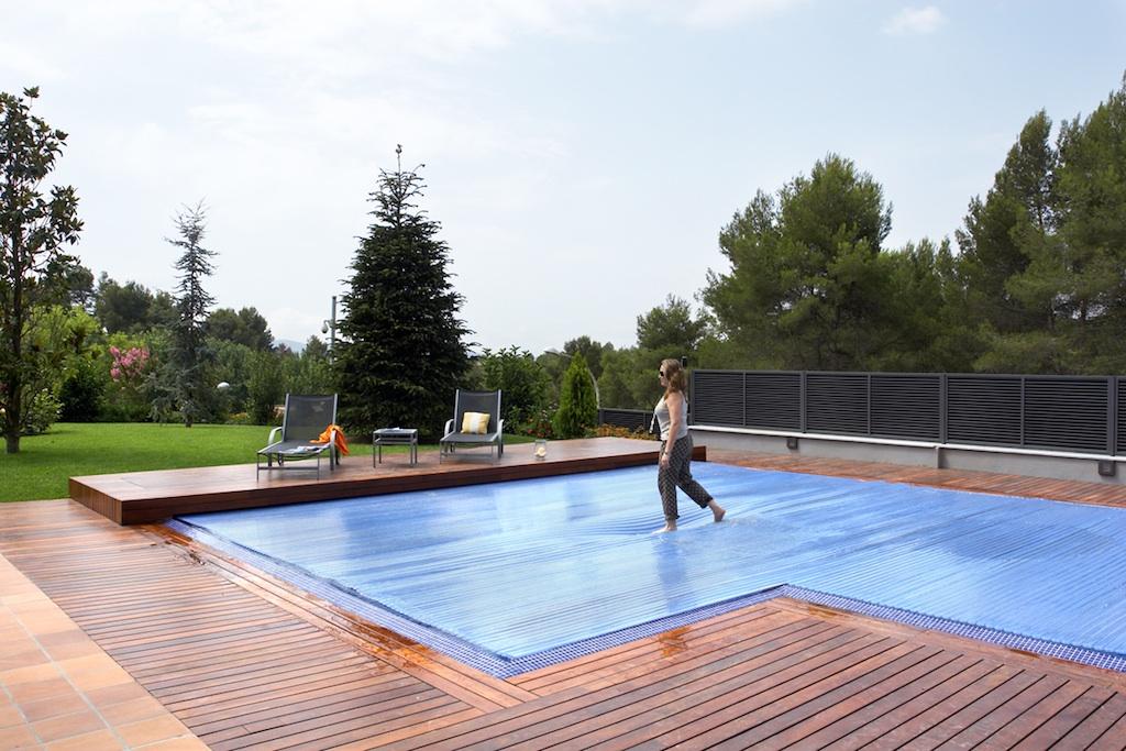 Cubiertas autom ticas para piscinas piscines dome for Proteccion de piscinas