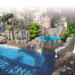 Diseño decoración spa
