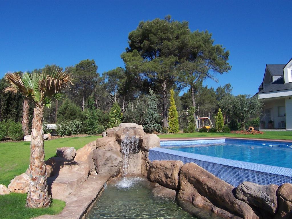 roca decorativa piscines dome