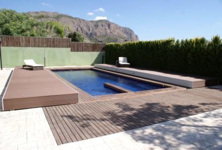 cubiertas elevadas para piscinas piscines dome
