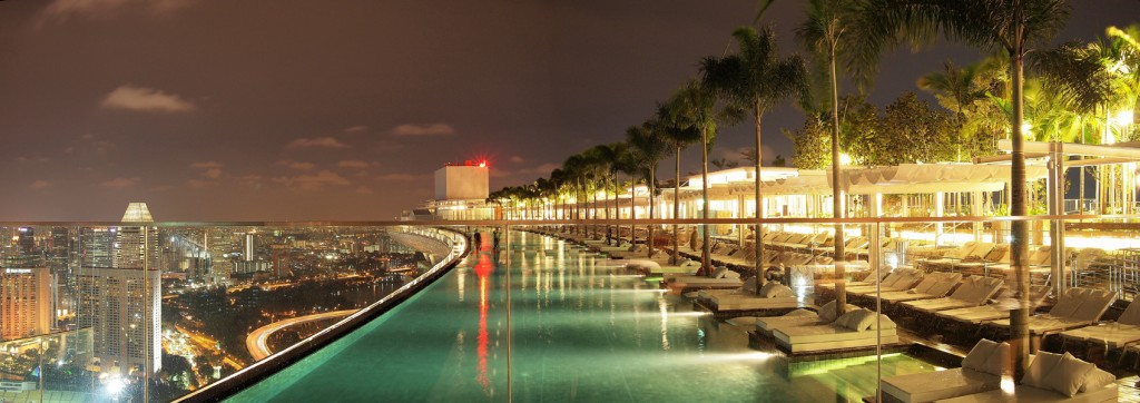 Hotel marina bay sands y su espectacular piscina - Marina bay sands piscina ...