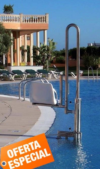 Elevador hidáulico para piscinas - Ascensor acuático
