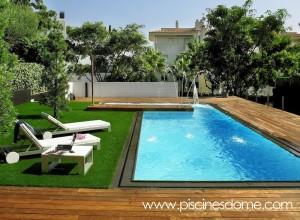 Construcci n de piscinas en barcelona girona tarragona y for Camping tarragona piscina cubierta