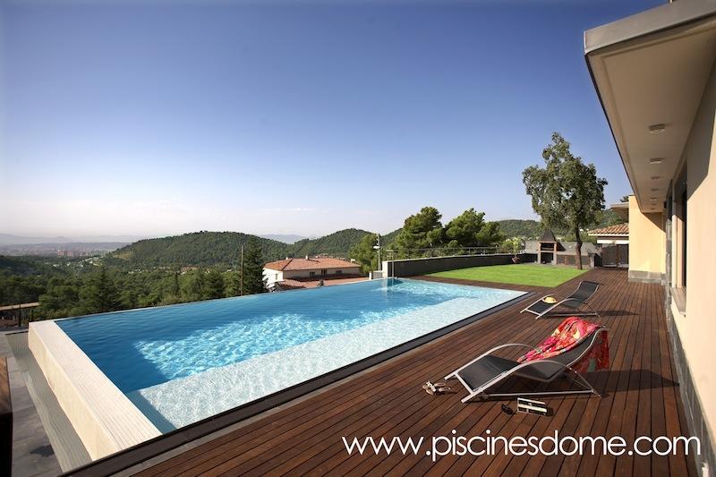 Construcci n de piscinas en barcelona girona tarragona y - Piscina sant cugat ...