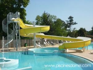 Tobogan acuatico piscina must'TOB_EDSUN Loisirs