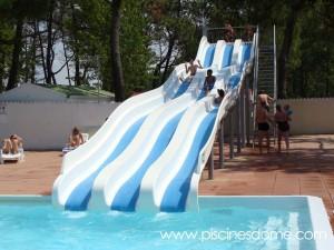 Tobogan acuatico slide'TOB_EDSUN Loisirs