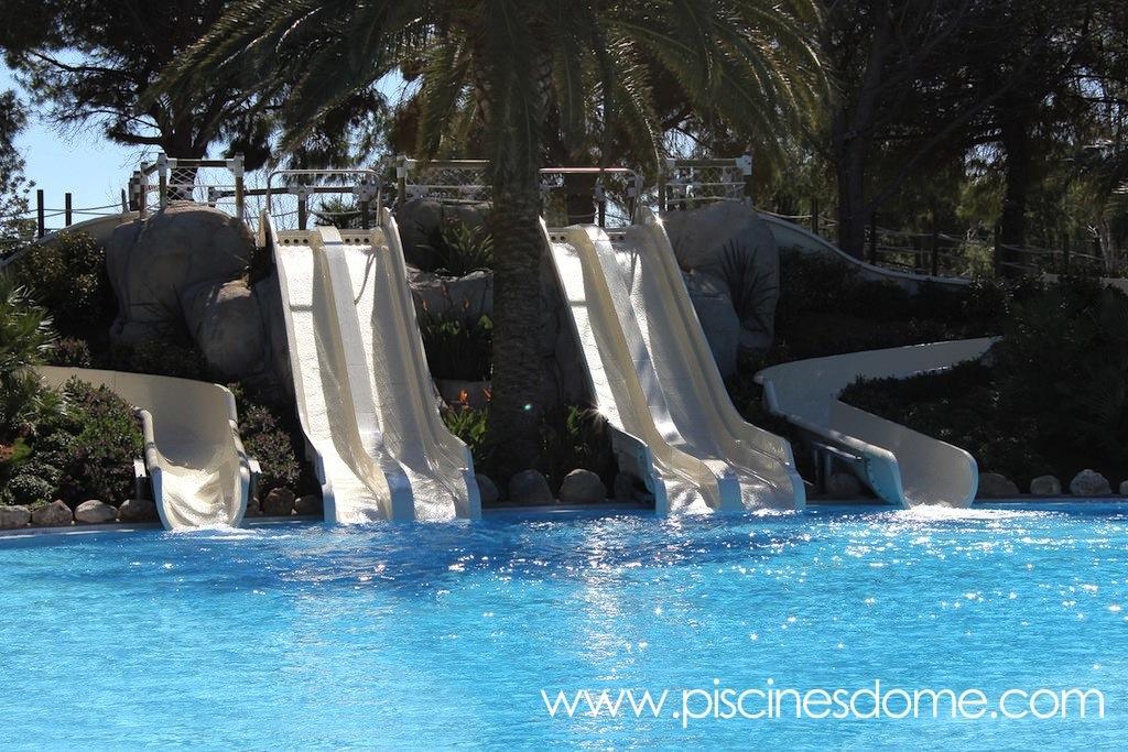 tobogán acuático EDSUN LOISIRS_Campings