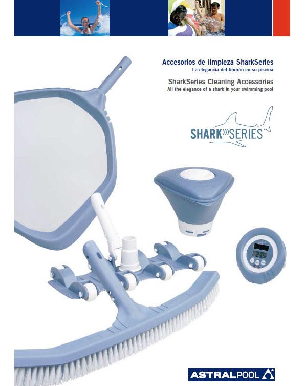 Accesorios de limpieza para piscinas sharkseries de for Accesorios para piscinas
